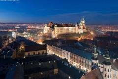 02 UMK Wawel nocą, widok na ul. Grodzką fot. P. Krzan