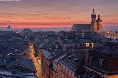 04 UMK Bazylika Mariacka o zachodzie słońca fot. P. Krzan